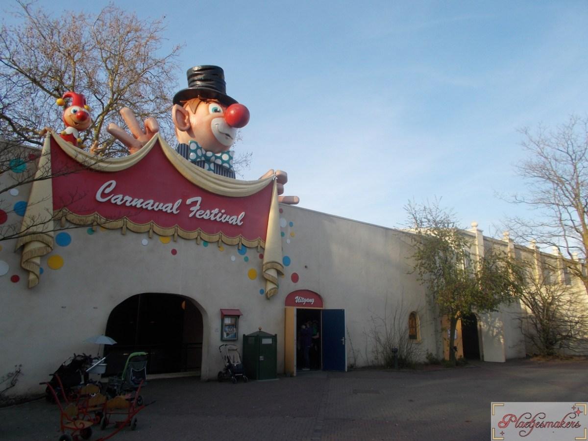 Vernieuwde toiletten Carnaval Festival