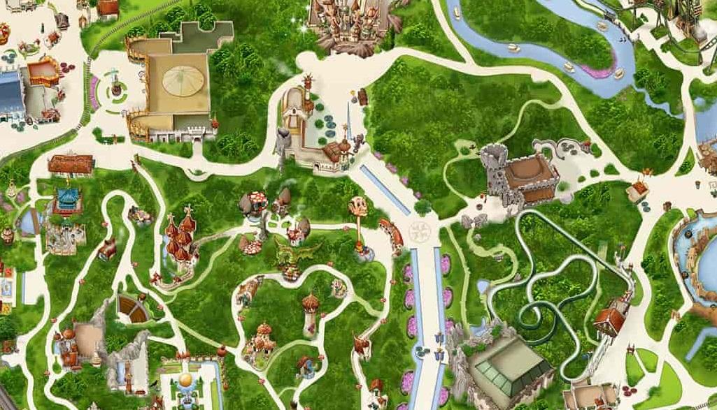Efteling introduceert aagepaste plattegrond