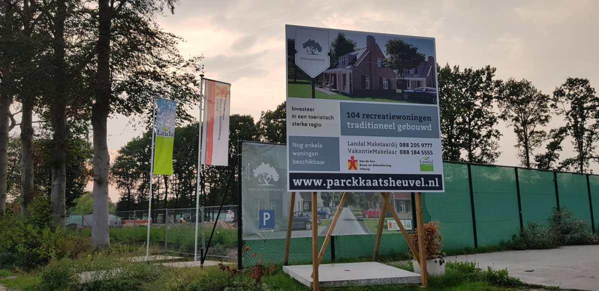 Foto's: bouw Landal Kaatsheuvel begonnen