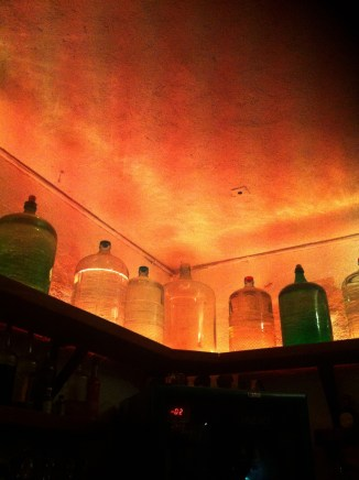 Mescal bar, Oaxaca, Mexico
