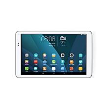 MediaPad T1 10 - تابلت 3G والمكالمات الصوتية - أبيض/فضي