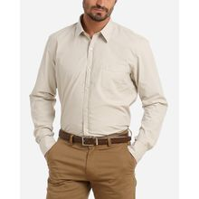 Solid Long Sleeves Shirt - Coffee