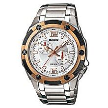 MTP-1326D-7A Stainless Steel Watch – Silver