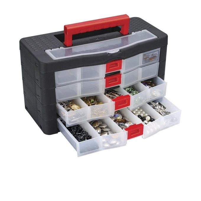 Super Bag ASR 2058 Oragnizer Box 4 Drawers 20 X 50