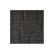 3D Brick Wall Tile Easy Self-Adhesive Design Paper Stickers-Black-grey