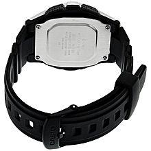 W-213-1avdf Resin Watch - Black/Silver