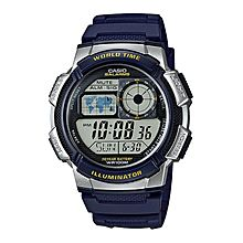 AE-1000W-2AVDF Resin Watch - Blue