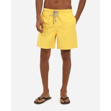 Plain Casual Swimwear - Yellow
