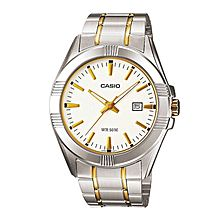 LTP-1308SG-7A Stainless Steel Watch - Silver-Gold