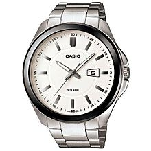 MTP-1318BD-7AVDF Stainless Steel Watch - Silver