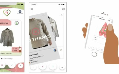 First Digital Social Wardrobe with Clothes Trading Marketplace