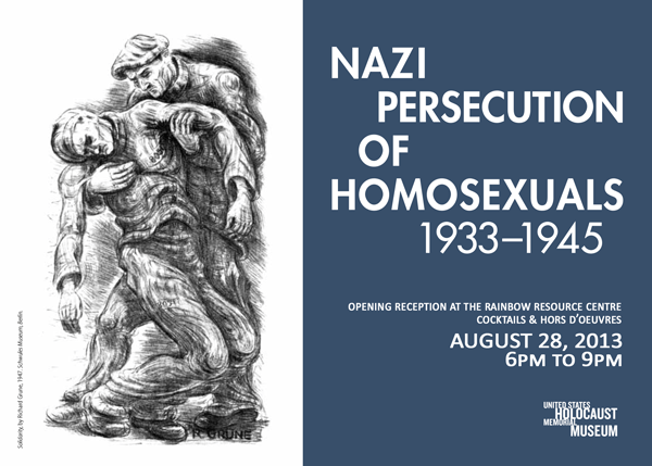 Nazi Persecution of Homosexuals 1933-1945 Exhibit - Opening Reception