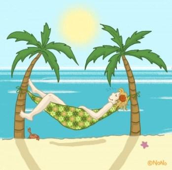 Vacances - Hamac - Crédit Les Créas de Nono