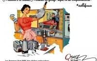 mère au foyer mère qui bosse