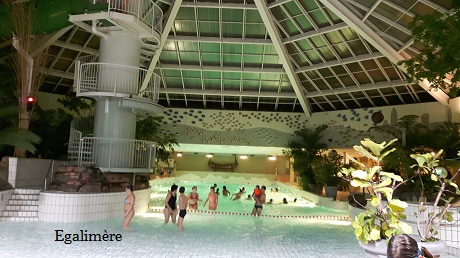 Aqua Mundo center parcs Zandvoort - Egalimère