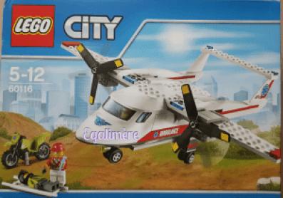 avion de secours lego - Egalimère
