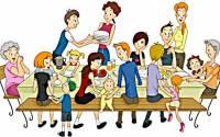 Grande et belle famille - Source http://www.clipartpanda.com/clipart_images/family-reunion-37284548