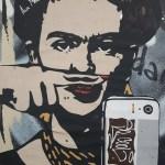 Frida Kahlo - Street art - Egalimère - Silent Sunday 80