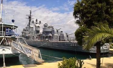 Athènes Navire de Guerre Averof