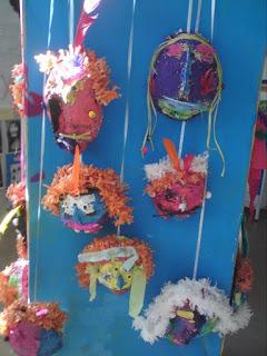 Expositions masques - école maternelle