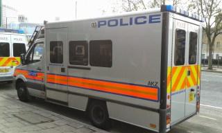 Londres - Camion de police