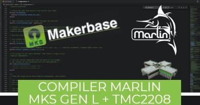 Compilation Marlin MKS GEN L + TMC2208 + BLTouch