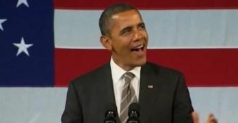 President Obama sings an Al Green Song