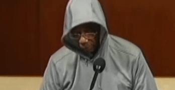 Congressman Bobby Rush Wears Gives Speech On Floor Of Congress With Hoodie On. He's Reprimanded