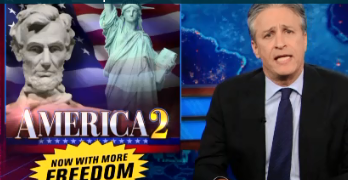 Jon Stewart: Glenn Beck & Conservatives' Utopia Is Social Libertyless Marxism (VIDEO)