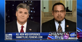 Sean Hannity Smacked By Congressman Keith Ellison–This Is How Fox News Bullies Are Neutralized