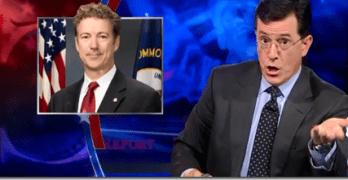 Stephen Colbert Decimates Rand Paul On Syria (VIDEO)