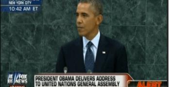 President Obama At United Nations