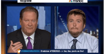 Ed Schultz & John Connelly on Ted Cruz