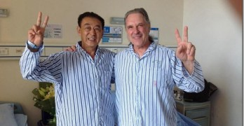 Ron Julian getting Chinese Healthcare