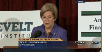Elizabeth Warren 21st Century Glass Steagall
