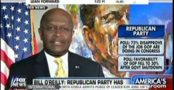 Herman Cain plays the race card on the Republican Party (VIDEO)