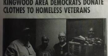Homeless Veterans Kingwood Area Democrats