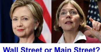 Hillary Clinton Wall Street