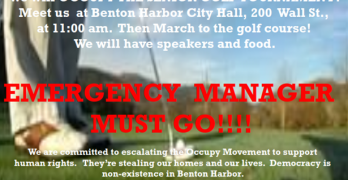 Occupy The PGA – Saturday, May 24th, 2014 – Benton Harbor, MI