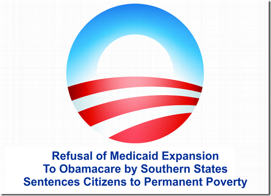 Obamacare Poor  Medicaid Expansion Conservative Ideology