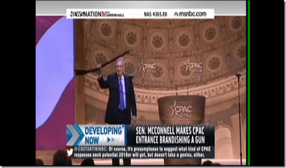 Mitch McConnell Rifle