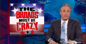 Jon Stewart epic takedown of the sexist news media and beyond (VIDEO)