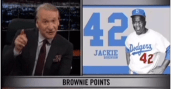 Bill Maher Jackie Robinson Marijuana Legislation