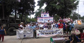 Kingwood Area Democrats 4th of July Parade