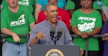 President Obama Milwaukee Wisconsin Laborfest