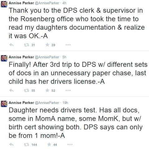 Annise Parker Mayor of Houston Tweets