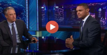 Jon Stewart, Trevor Noah