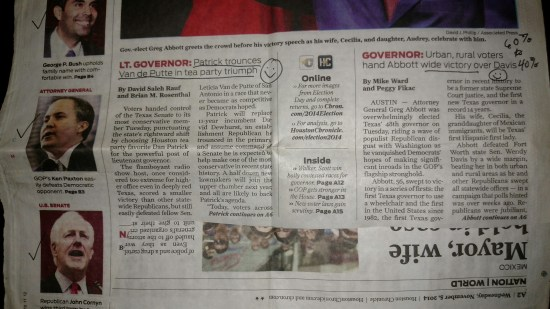 Hate mail, Newspaper article, GOP, Republican, Tea Party