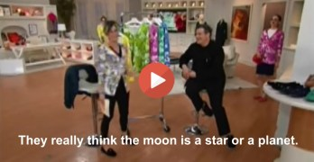 Watch QVC host argue whether moon is a star or a planet. Really! (VIDEO)
