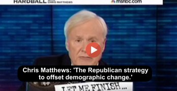 Chris Matthews slams GOP strategy for stealing 2016 election (VIDEO)